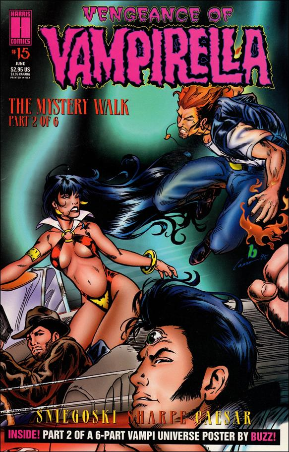 Vengeance of Vampirella 15-A by Harris