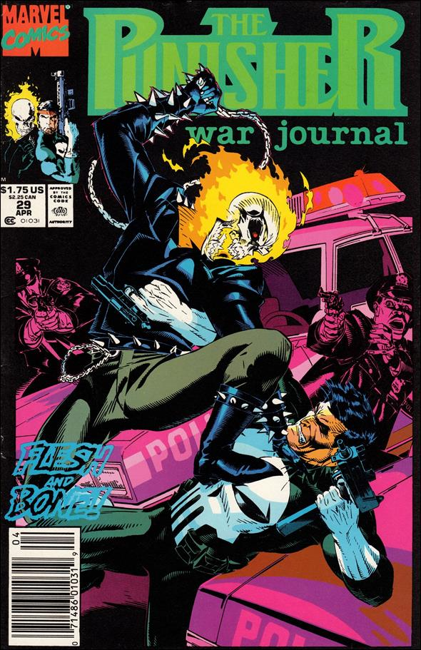 Punisher War Journal (1988) 29-A by Marvel