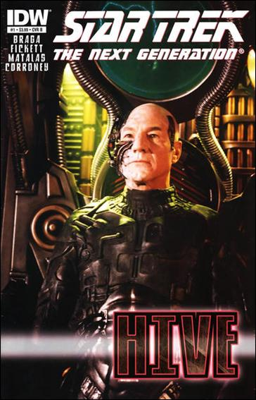 Star Trek: The Next Generation: Hive 1-B by IDW