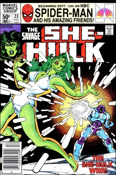 Savage She-Hulk 23-A by Marvel