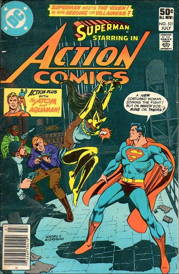 Action Comics (1938) 521-A by DC