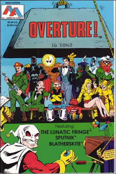 Overture 1-A by All American Comics
