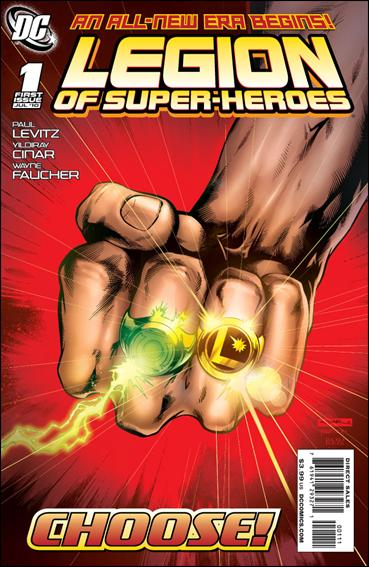 Legion of Super-Heroes (2010) 1-A by DC