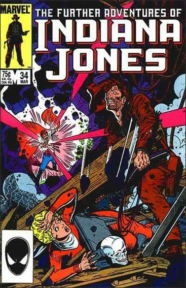 Further Adventures of Indiana Jones 34-A by Marvel