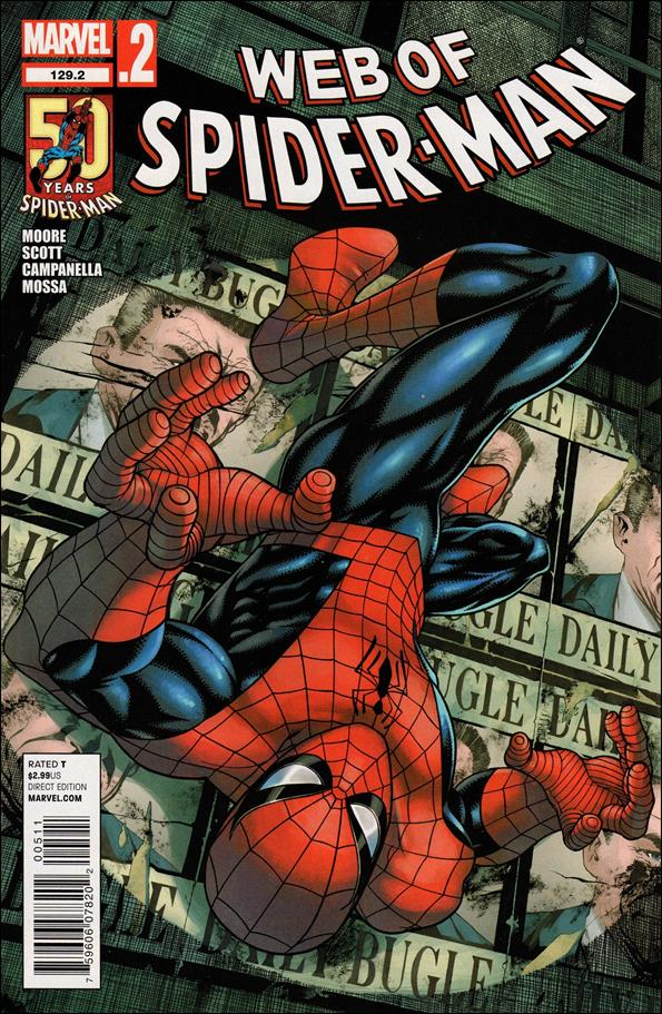 Web of Spider-Man (1985) 129.2-A by Marvel