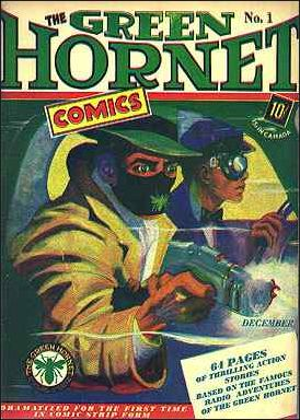 Green Hornet Comics 1-A by Harvey
