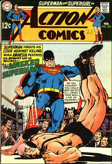 Action Comics (1938) 372-A by DC