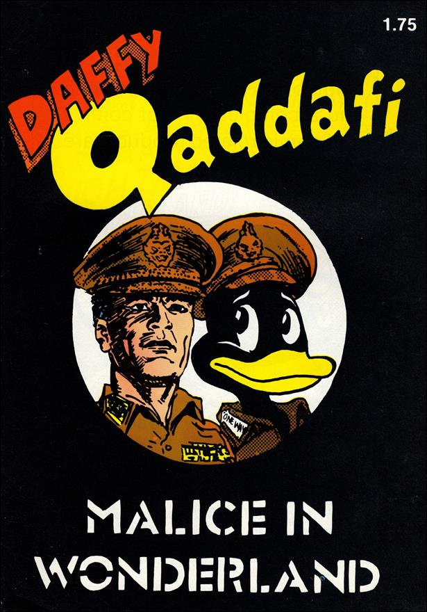 Daffy Qaddafi 1-A by Comics U.S.A.