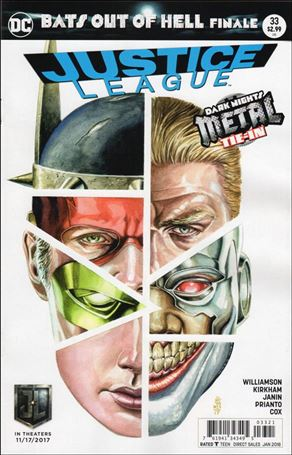 Justice League (2016) 33-B