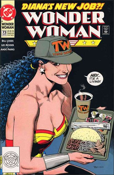 Wonder Woman (1987) 73-A by DC