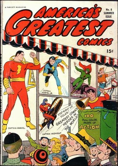 America's Greatest Comics (1941) 8-A by Fawcett