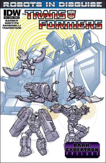 Transformers: Robots in Disguise 21-A by IDW