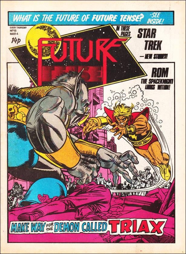 Future Tense (UK) 18-A by Marvel UK