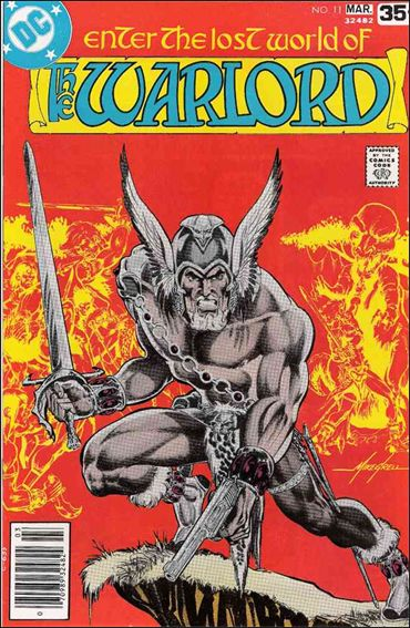Warlord (1976) 11-A by DC