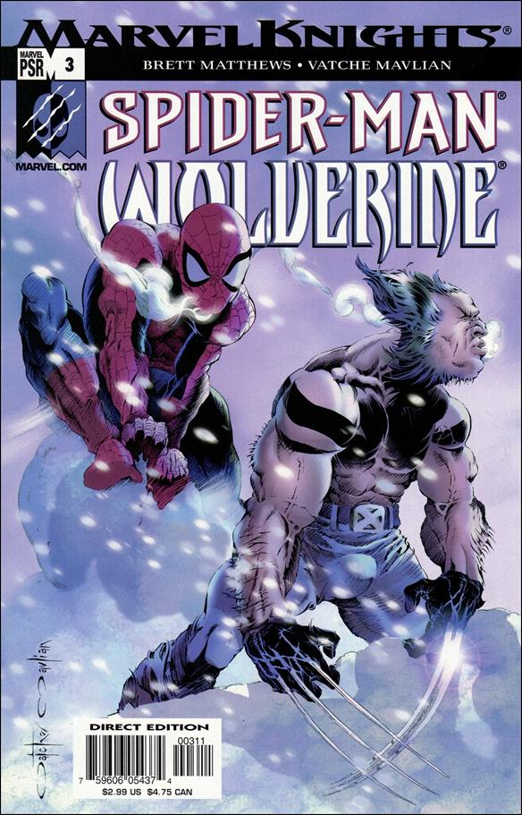 Spider-Man & Wolverine 3-A by Marvel