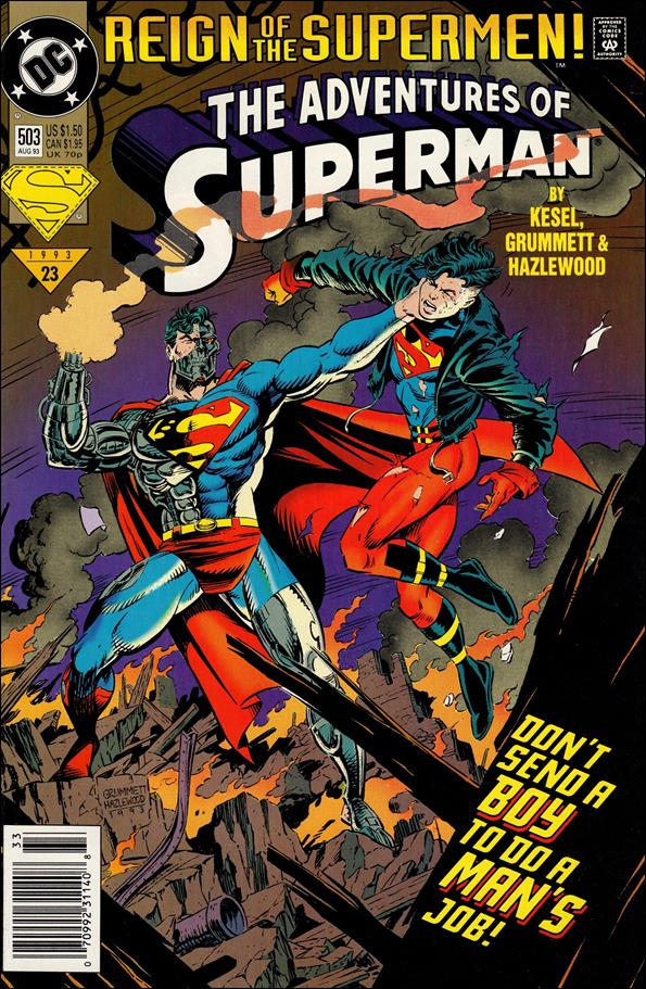 Adventures of Superman (1987) 503-A by DC