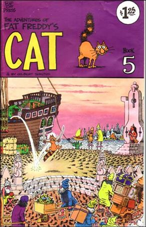 Adventures of Fat Freddy's Cat 5-B