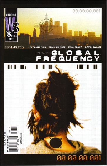 Global Frequency 8-A by WildStorm