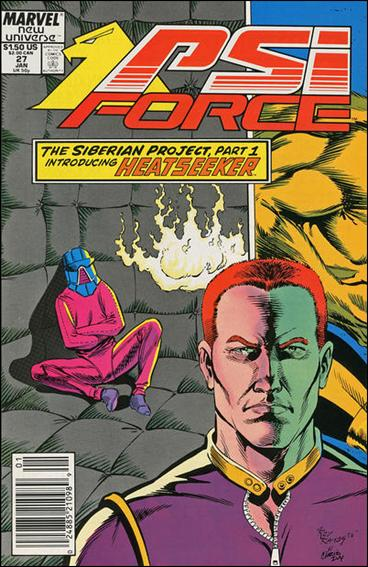 Psi-Force 27-A by Marvel