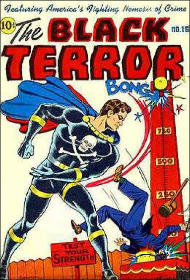 Black Terror (1942) 16-A by Nedor