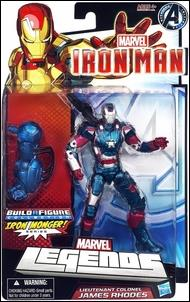 Marvel Legends: Iron Man (Iron Monger Series) Lieutenant Colonel James Rhodes by Hasbro