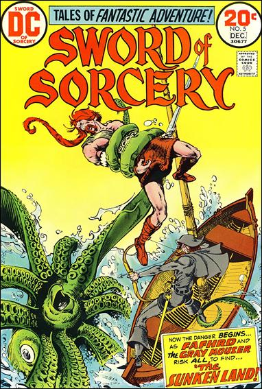 Sword of Sorcery (1973) 5-A by DC