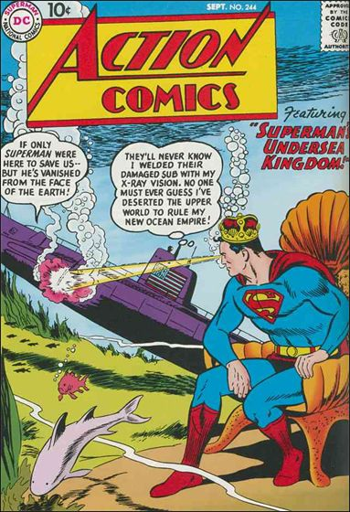 Action Comics (1938) 244-A by DC