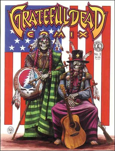 Grateful Dead Comix (1991) 3-A by Kitchen Sink