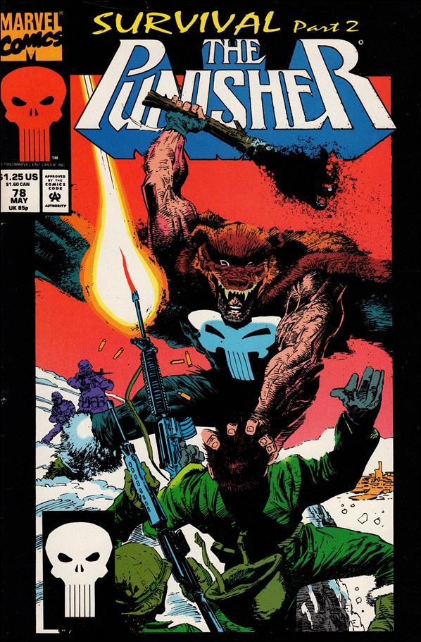 Punisher (1987) 78-A by Marvel