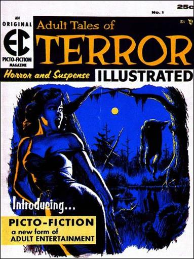 Terror Illustrated 1-A by E.C.