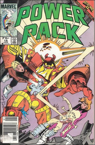 Power Pack (1984) 18-B by Marvel
