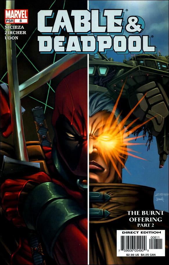 Cable & Deadpool 8-A by Marvel