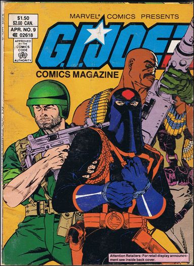 G.I. Joe: Comics Magazine 9-A by Marvel