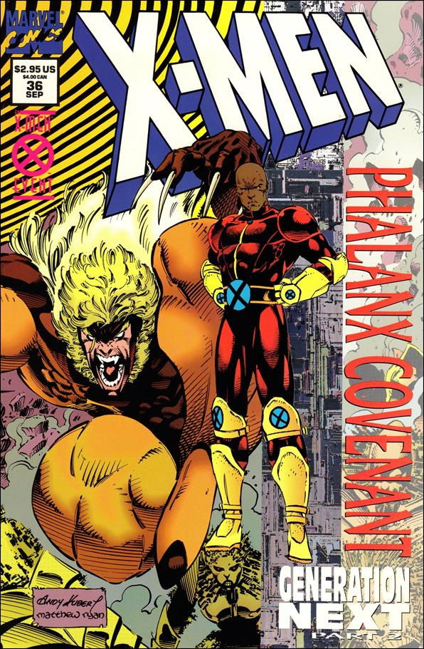 X-Men (1991) 36-A by Marvel