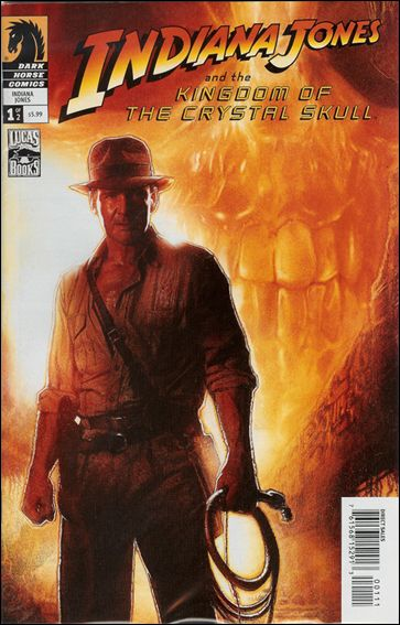 Indiana Jones and the Kingdom of the Crystal Skull 1-B by Dark Horse