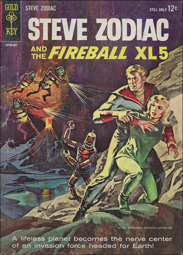 Steve Zodiac and the Fireball XL-5 1-A by Gold Key