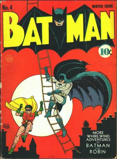 Batman (1940) 4-B by DC