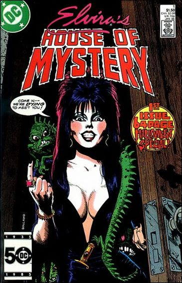 Elvira's House of Mystery 1-A by DC