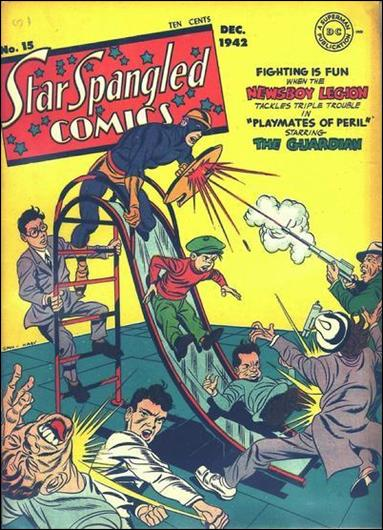 Star Spangled Comics (1941) 15-A by DC
