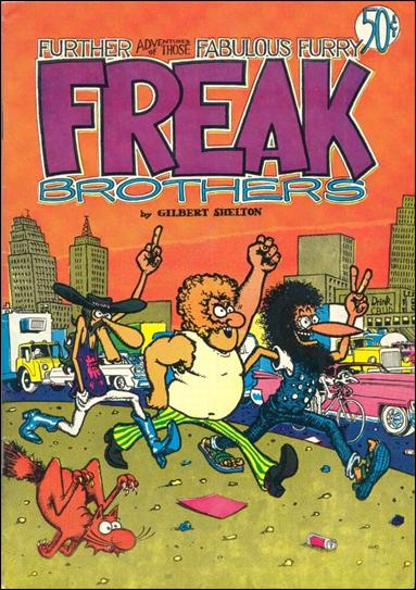 Fabulous Furry Freak Brothers 2-C by Rip Off Press