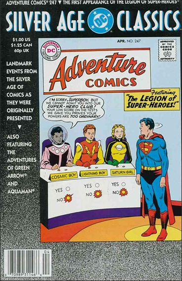 DC Silver Age Classics Adventure Comics 247-A by DC