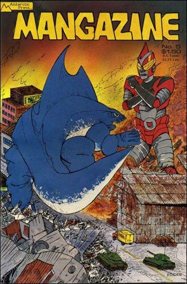 Mangazine (1985) 5-A by Antarctic Press