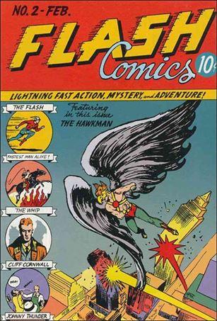 Flash Comics (1939) 2-A