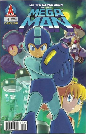 Mega Man 4-A by Archie