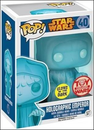 POP! Star Wars Holographic Emperor (Glows in the Dark)