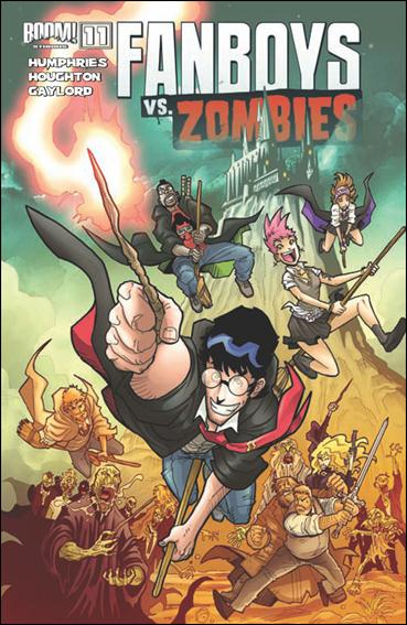 Fanboys vs Zombies 11-A by Boom! Studios