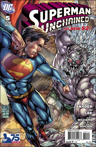 Superman Unchained 5-F by DC