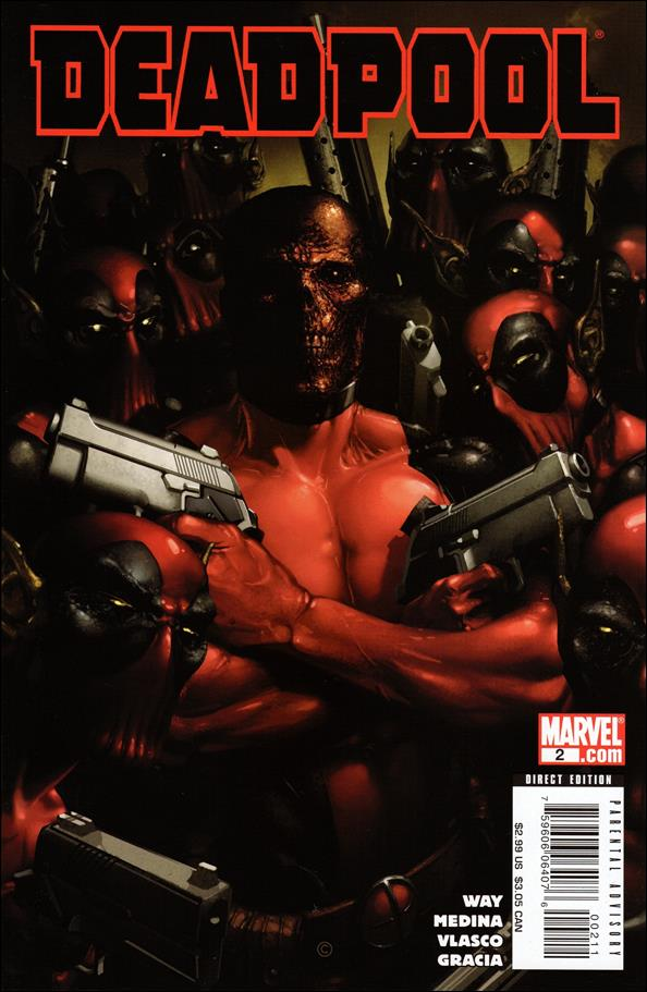 Deadpool (2008) 2-A by Marvel