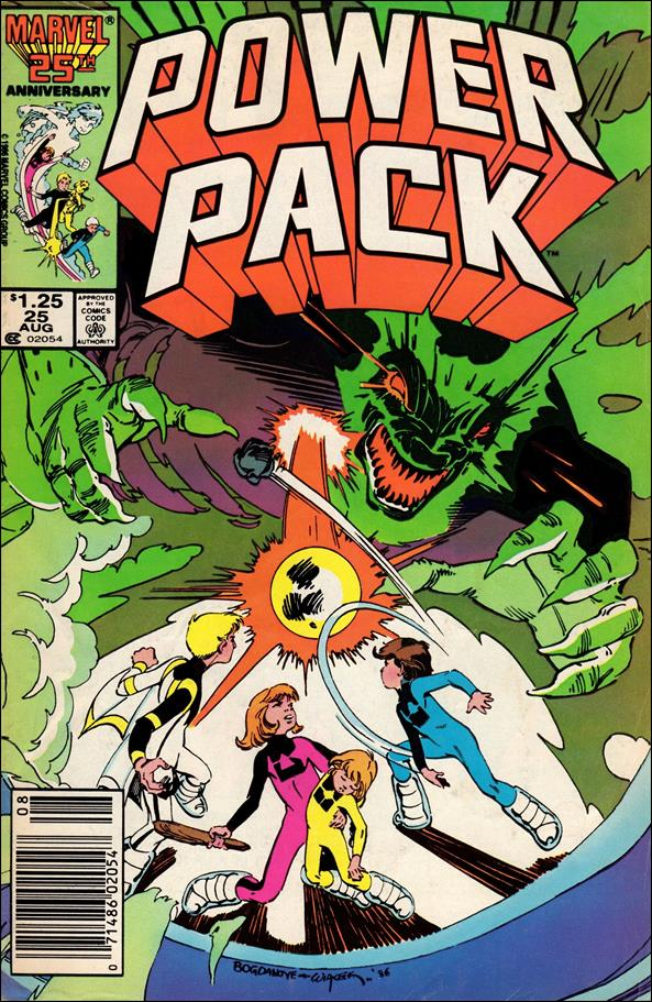 Power Pack (1984) 25-A by Marvel