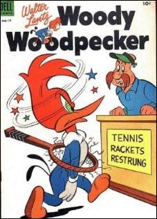 Walter Lantz Woody Woodpecker  19-A by Dell